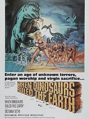 Cuando los dinosaurios dominaban la tierra - Película 1970 ...