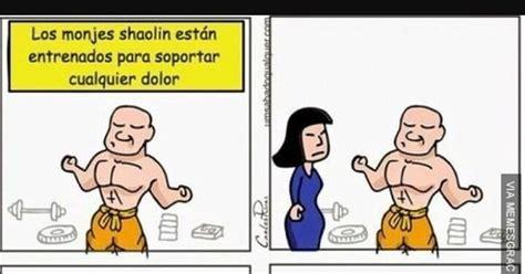 ¡Cuánta razón! / Los monjes Shaolin se enfrentan por vez ...