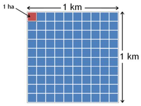 CUANTO: a cuanto equivale un kilometro cuadrado