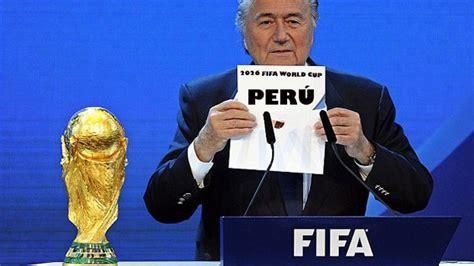¿Cuánto le costaría al Perú organizar la Copa del Mundo ...