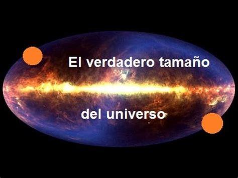 ¿Cuánto mide el Universo? - YouTube