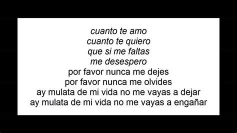 Cuanto te quiero cuanto te amo guayacán con letra Chords ...