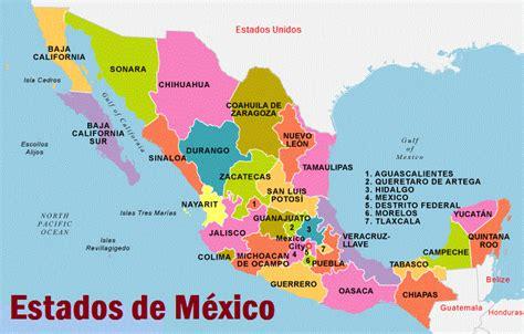 ¿Cuántos estados tiene México?   México mi país