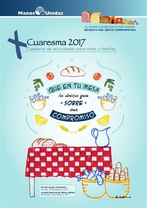 Cuaresma 2017. actividades niños y jóvenes
