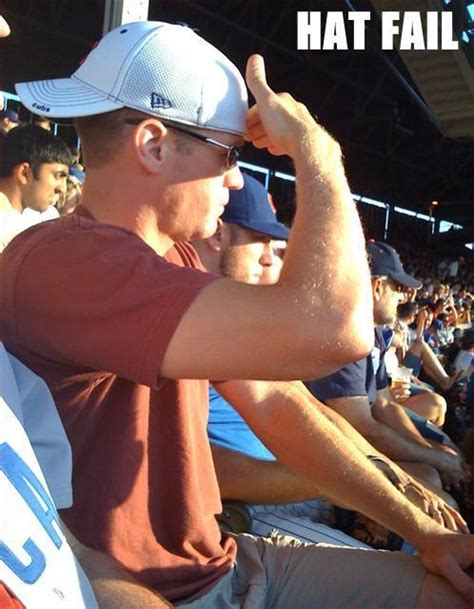 Cubs Fan Yet To Figure Out How To Use A Hat | Total Pro Sports