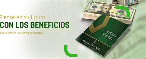 Cuenta de Ahorros | Banco de Machala