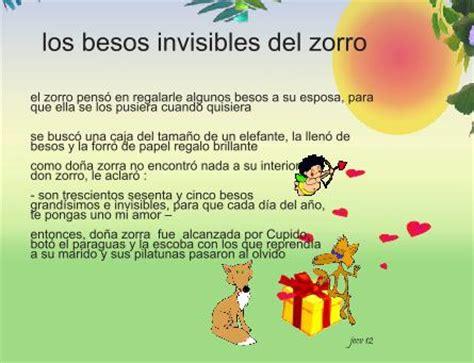 cuento de los besos invisibles del zorro   cuentos ...
