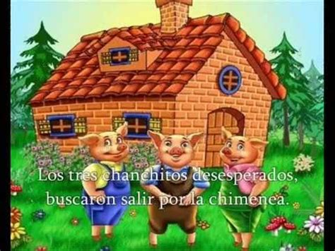 Cuento Los Tres Chanchitos en Imagenes   YouTube