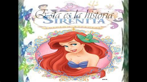 Cuentos Infantiles (Princesas Disney): La Sirenita (Bajo ...