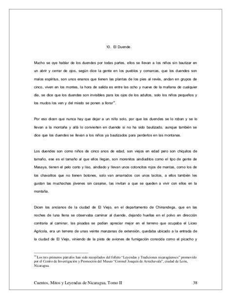 Cuentos, mitos y leyendas de nicaragua tomo ii 26082011
