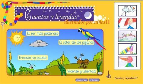 Cuentos y leyendas infantiles con actividades interactivas