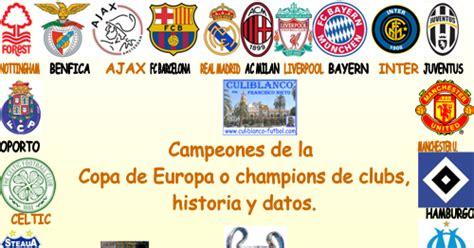 CULIBLANCO por FRANCISCO NIETO: Campeones de la Champions ...