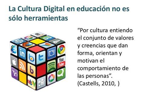 Cultura digital y Educación
