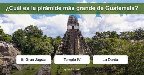 Cultura General de Guatemala   Cuestionario de Trivia ...