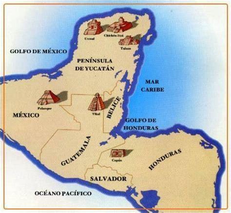 Cultura maya: Ubicacion Geografia