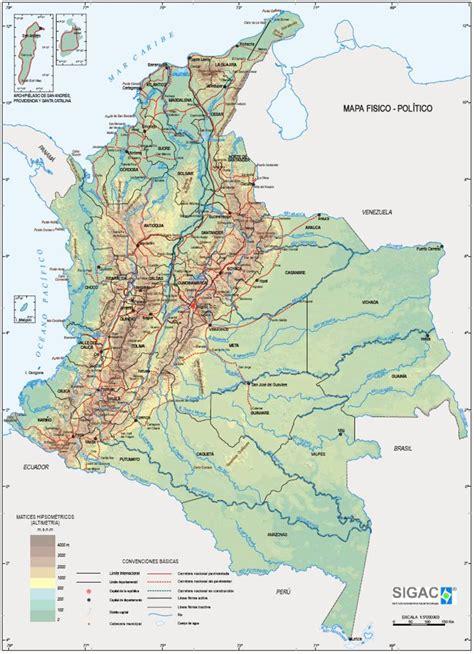 cultura-rumana-colombiana: Geografía De Colombia