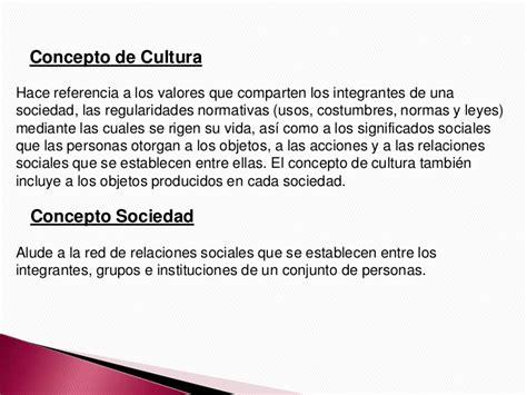 Cultura y sociedad 2