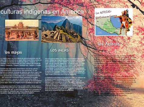 Culturas Indigenas en America: america, aztecas, culturas ...