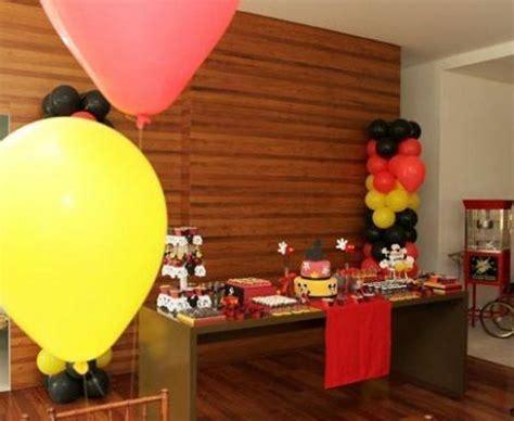 Cumpleaños un año Mickey Mouse