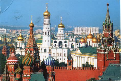 Cupolas of the Kremlin | Remembering Letters and Postcards