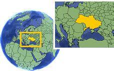Current local time in Ukraine