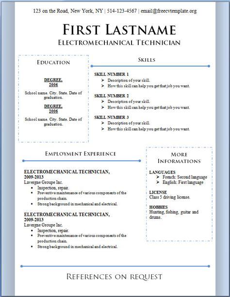 Curriculum Vitae: Curriculum Vitae Download Template