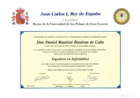 Curriculum Vitae de Daniel Bautista