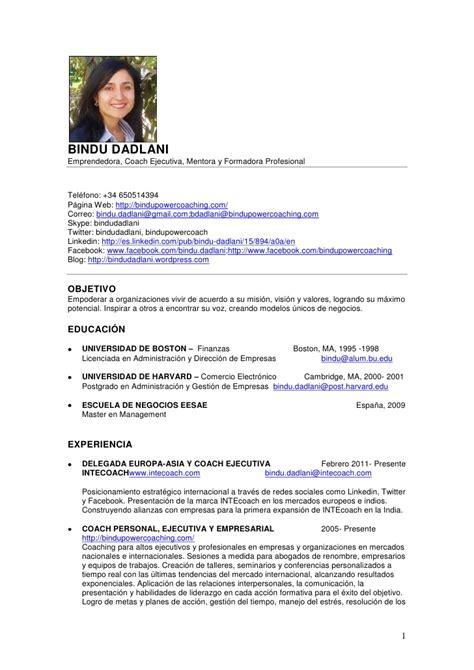 Curriculum vitae en espanol gratis   Order essay