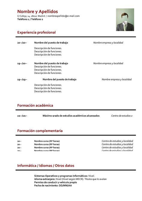 Curriculum Vitae Formato | Lugares para visitar in 2018 ...
