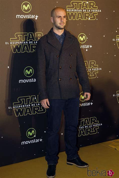 Curro Sánchez en el estreno de  Star Wars: El Despertar de ...