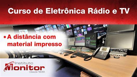 Curso de Eletrônica Rádio e TV   Instituto Monitor   YouTube
