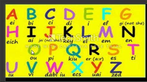 Curso de Ingles GRATIS - El alfabeto Clase 01 - YouTube