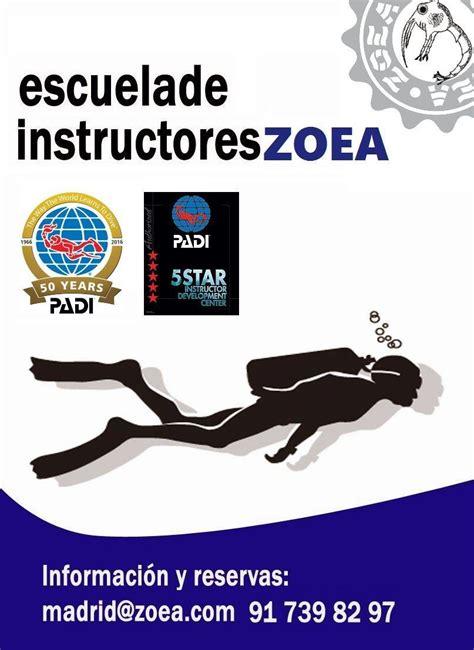 Curso de Instructor de Buceo PADI en Madrid | ZOEA
