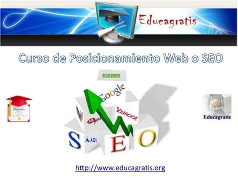 Curso de Posicionamiento Web o SEO