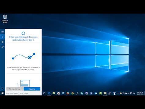 Curso de Windows 10   48. Activar Cortana | FunnyDog.TV