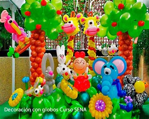 Curso Decoración Con Globos SENA | www.sena.edu.co