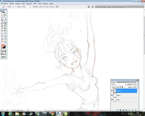 Curso gratis de Dibujar Cheerleader Manga   Dibujo en ...