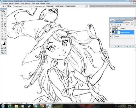 Curso gratis de Dibujo Manga   Cómo dibujar una bruja ...