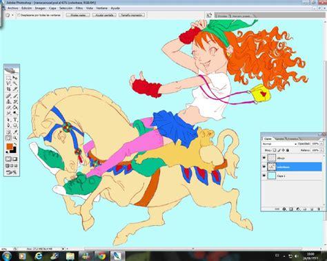 Curso gratis de Manga Carrusel   Colorear con Photoshop ...
