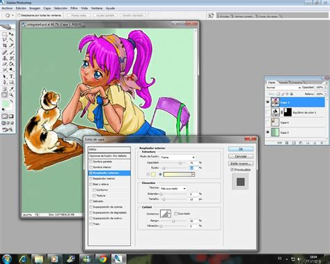 Curso gratis de Manga: Dibujando Colegialas   Colorear con ...