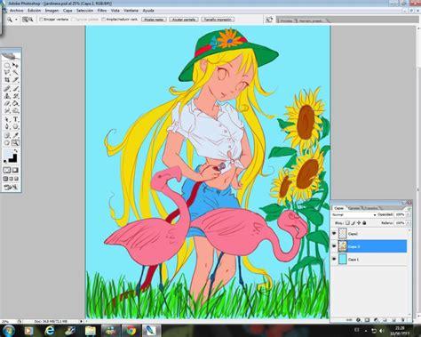 Curso gratis de Manga Jardinera   Colorear con Photoshop ...