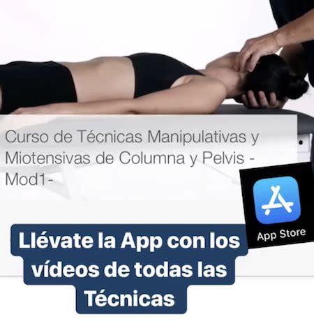 CURSO Técnicas Manipulativas COLUMNA Y PELVIS en Barcelona ...