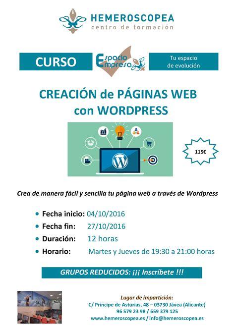 curso wordpress – HEMEROSCOPEA