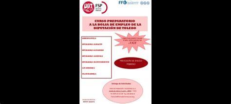 Cursos de preparación Bolsa de Empleo de la Diputación de ...