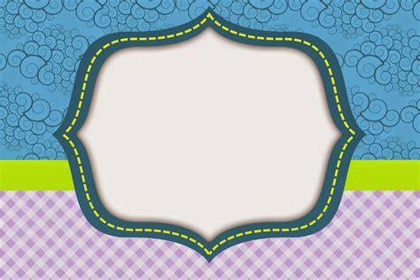 Curvas y Cuadros: Invitaciones para Imprimir Gratis ...