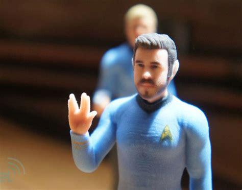 Custom 3D Printed Star Trek Figures | Incredible Things