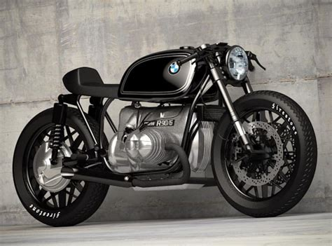 Custom BMW Motorcycle Concepts by Ziggy Moto