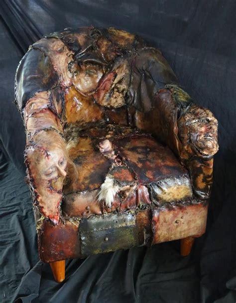 Custom Ed Gein Skin Chair. Designed by Kayla Arena at ...