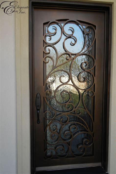 Custom wrought iron front door. | home ideas | Pinterest ...