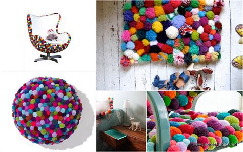 Cute Colorful DIY Pom-Pom Crafts and Ideas [Video Included]